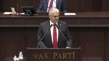 Başbakan Binali Yıldırım, Genel Başkan olarak son kez AK Parti Grubu'na konuştu