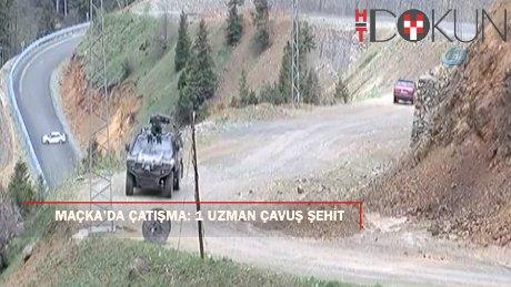 Trabzon Maçka'da PKK'lılarla çatışma: 1 şehit