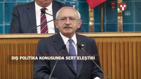 """Kılıçdaroğlu: """"Ortadoğu bataklığına Türkiye'yi sürüklemeyin dedik"""""""