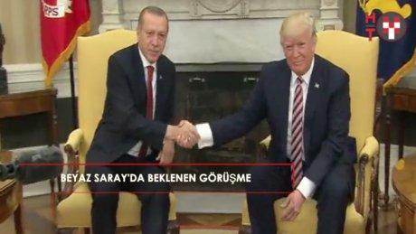 Beyaz Saray'da beklenen buluşma: Erdoğan ve Trump bir arada!