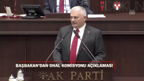 """Başbakan Yıldırım: """"OHAL İnceleme Komisyonu üyeleri belirlendi"""""""
