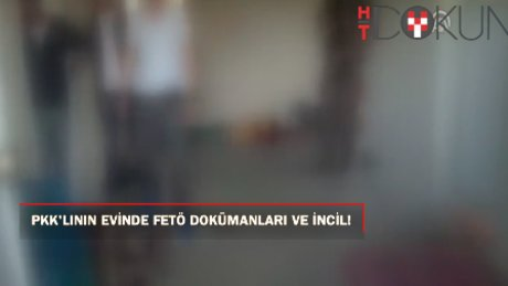 PKK'lının evinde FETÖ kitapları bulundu!