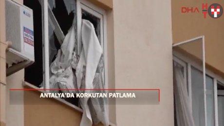 Antalya'da TOKİ konutlarında patlama: 2 ölü