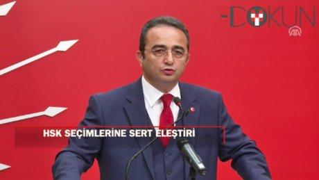 Tezcan'dan HSK seçimi eleştirisi