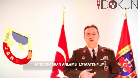 Jandarmadan 19 Mayıs'a özel klip