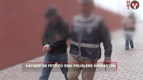 Eski polislere FETÖ operasyonu: 20 gözaltı