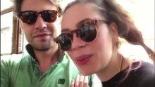 Demet Evgar sevgilisiyle video paylaştı