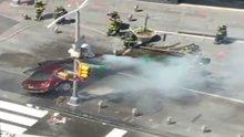 New York'ta terör paniği yaşatan sürücü yayaları ezdi