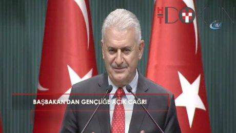 """Başbakan Yıldırım: """"Gençlikle devlet arasındaki duvarları yıktık"""""""