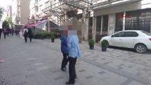 Taksim'de madde bağımlısı çocuklar