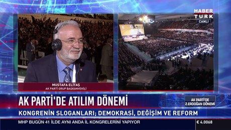 Mustafa Elitaş yeni MKYK listesini yorumladı