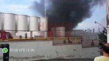 İkitelli Organize Sanayi Bölgesinde yangın