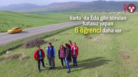 Varto'nun yediverenleri TEOG şampiyonları