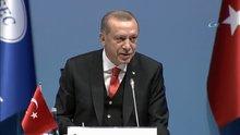 Cumhurbaşkanı Erdoğan KEİ Zirvesi'nde Fenerbahçe'yi tebrik etti