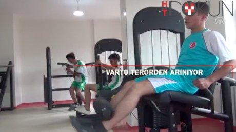 Varto'da terörün izleri siliniyor