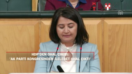 "HDP'li Kemalbay: ""AK Parti konggresinde müebbet OHAL çıktı"""