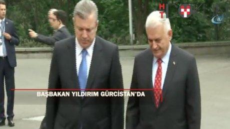 Başbakan Yıldırım Gürcistan'da