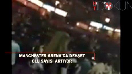 Manchester saldırısında korkunç detaylar: ''Ariana Grande'den iki saniye sonra...''