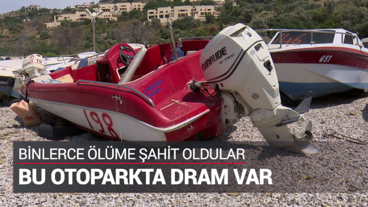 Mülteci tekneleri burada toplanıyor
