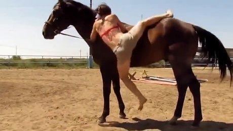 Atın kadınla imtihanı