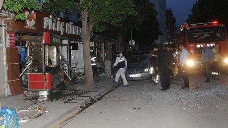 Eskişehir'de tüp patlaması: 2 yaralı