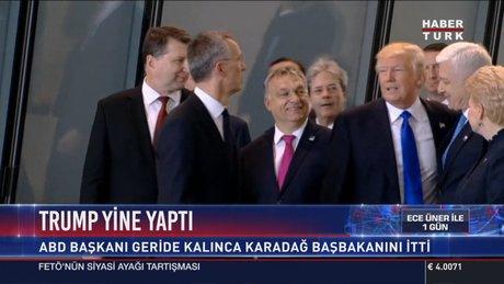 Trump Karadağ'ın başbakanını böyle itti