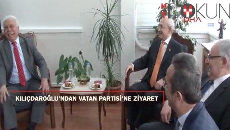 Kılıçdaroğlu'ndan Vatan Partisi'ne ziyaret