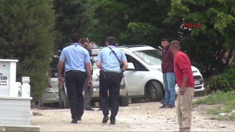 'Katil zanlısı cenazeyi bastı' iddiası panik yarattı