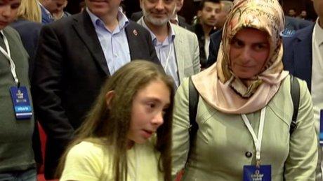 Cumhurbaşkanı Erdoğan'ı görebilmek için dakikalarca ağladı