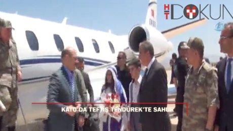 İçişleri Bakanı Süleyman Soylu Kato'ya gitti