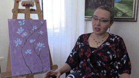 Kanser mücadelesine sanat motivasyonu