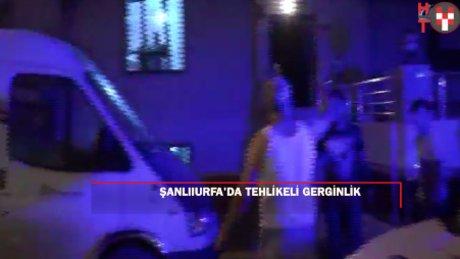 Şanlıurfa'da Suriyeliler ile Türkler arasında kavga