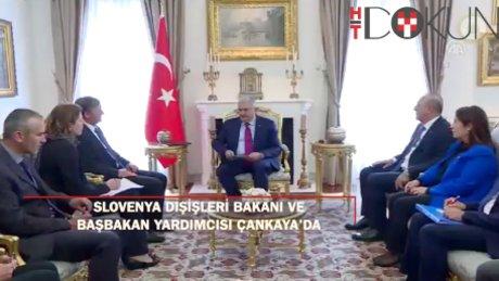 Yıldırım, Slovenya Dışişleri Bakanı ve Başbakan Yardımcısı Erjavec'i kabul etti