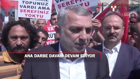 """FETÖ'nün İstanbul'daki """"ana darbe davası"""" na devam"""