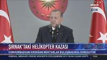 Erdoğan, şehit Tümgeneral Aydın'ın şiirini okudu