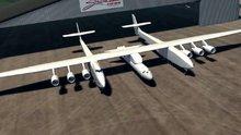 Dünyanın en büyük uçağı, ilk kez gün yüzüne çıktı