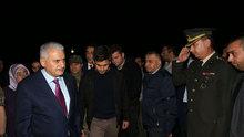 Başbakan Yıldırım'dan, şehit Tümgeneral Aydın'ın ailesine taziye