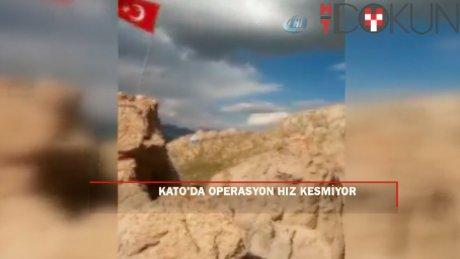 Şehit Tümen Komutanı Aydoğan Aydın'ın görevini askerleri kararlılıkla yürütüyor