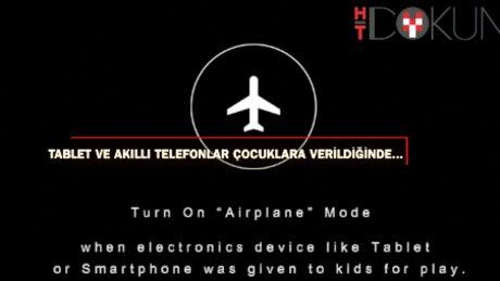 Tablet ve akıllı telefonlar çocuklara verildiğinde...