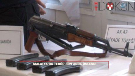 Malatya'ya bombalı eylem için gelen terörist çıkan çatışmada öldürüldü