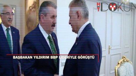 Başbakan Yıldırım BBP Genel Başkanı Destici'yi kabul etti.