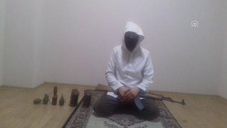 DEAŞ'lı teröristlerin eylem hazırlığı görüntüleri