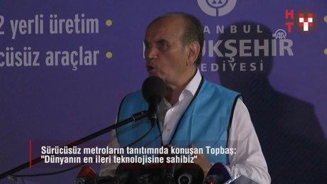 IST - Yenikapı'ya sürücüsüz metrolar indirildi