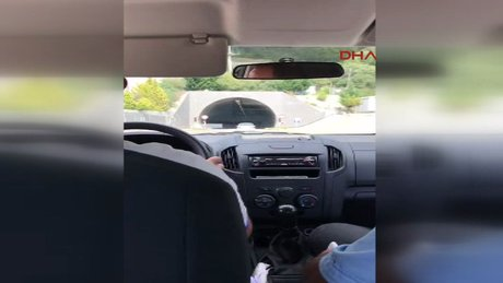 Tünelden geçecek ambulanstan ücret istenmesi tepki çekti
