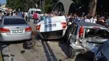 Kocaeli'de zincirleme trafik kazası: 9 yaralı