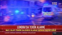"""Londra'da terör saldırısı, İngiltere polisi, """"Olaylarda 1'den fazla ölü var"""""""