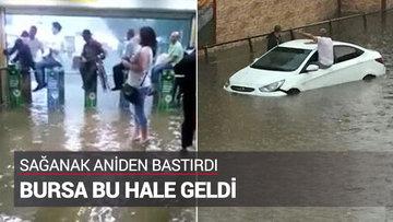 Bu görüntüler Bursa metrosundan...