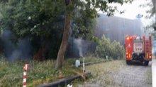 Şişli'deki Eski Türk Telekom Binası'nda yangın
