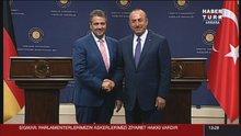 Mevlüt Çavuşoğlu ve Alman mevkidaşı Sigmar Gabriel'den ortak açıklama