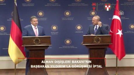 Gabriel Çavuşoğlu'yla görüştü, Başbakan Yıldırım'la görüşme iptal
